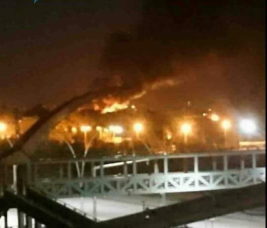 طائرات إسرائيلية تقصف مطار المزة العسكري في دمشق