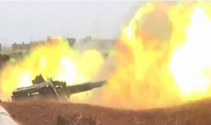 الجيش يتقدم باتجاه حي القابون ويسيطر على عدة نقاط للمجموعات المسلحة في مزارع القابون