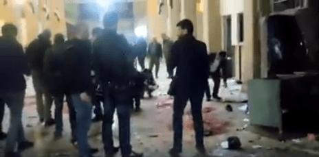 شهداء وجرحى في تفجيرات إرهابية استهدفت قصر العدل ومطعم في دمشق