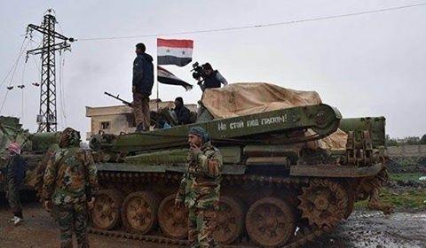 أبرز التطورات الميدانية على الساحة السورية.
