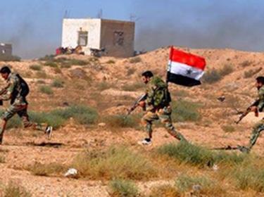 الجيش يدمر مواقع لإرهابيي داعش في ريف السويداء