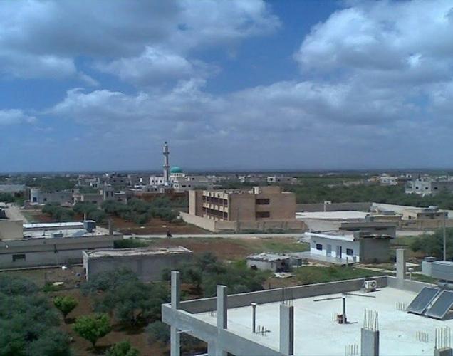 رفع العلم السوري في بلدتي ابطع وداعل بريف درعا