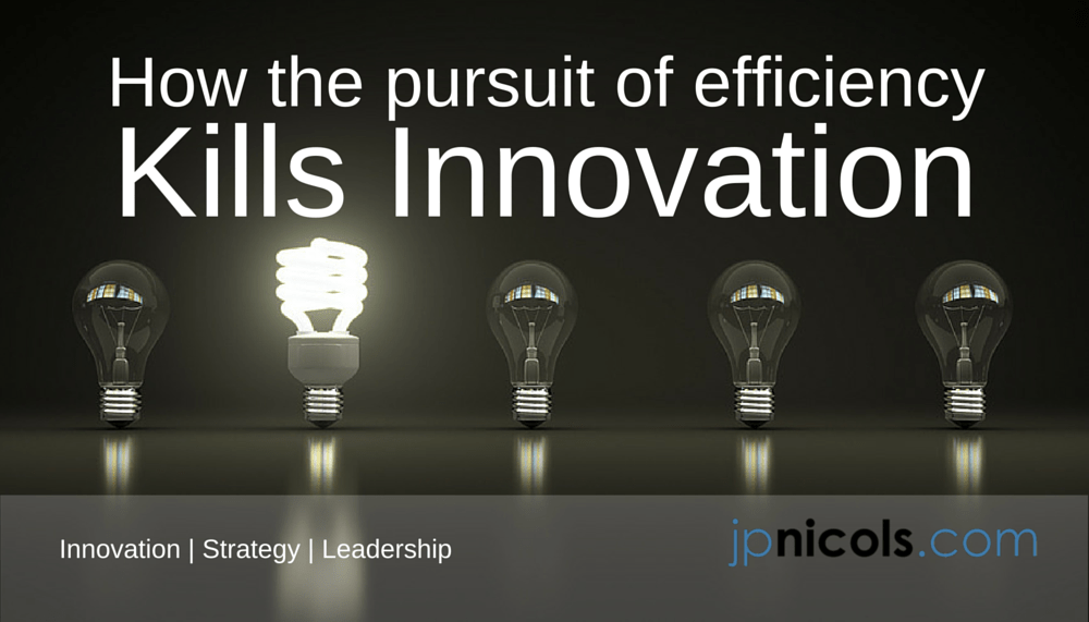 Innovation Versus Efficiency