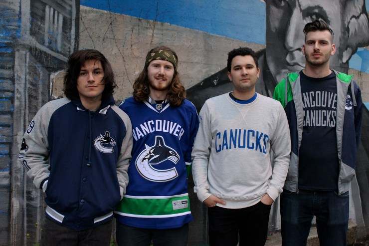 JPNSGRLS in Canucks Merchandise_ Photo Credit: Fanny Lau