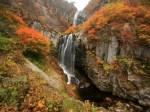 安の滝・中ノ又渓谷