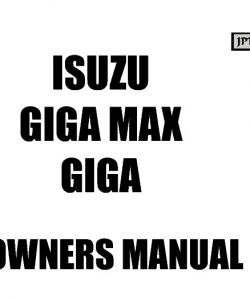 Isuzu car vehicle service and workshop manuals for Izuzu