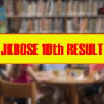 JKBOSE 10th Result 2020 Class 10