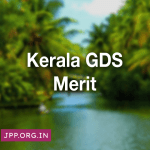 Kerala GDS Merit List