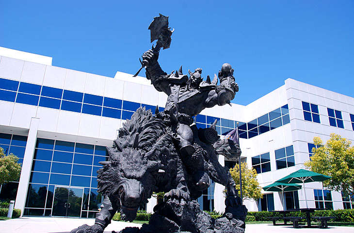 Orc Statue