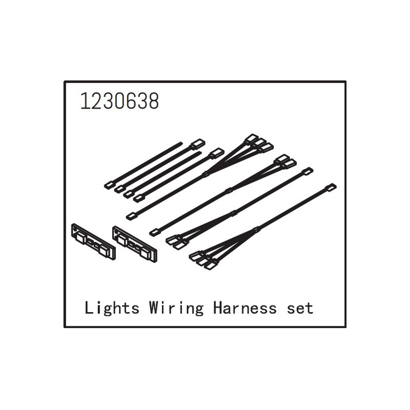 Lights Wiring Harness Set