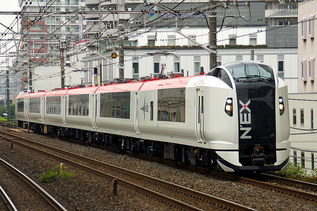 Narita Express, the newest car E259 series