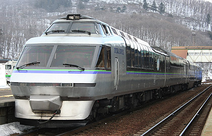Direct transfer to Furano from Sapporo. Limited Express Furano Lavender Express / Furano Koyo Express