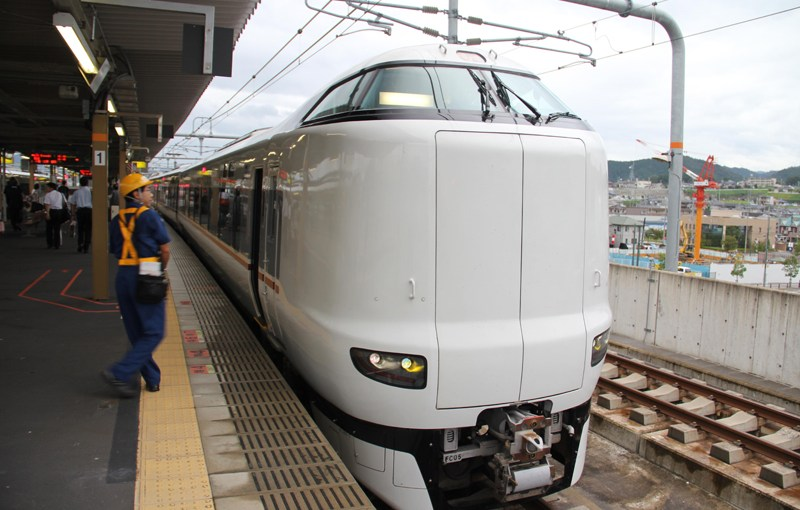 Direct transfer to Kinosaki from Osaka, Limited Express Konotori