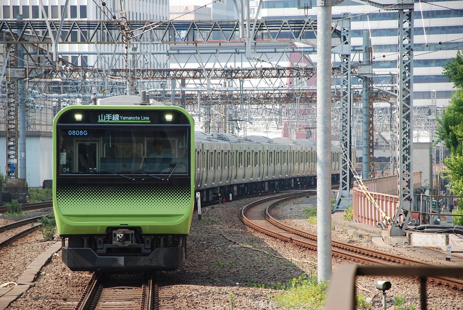 yamanote line e235