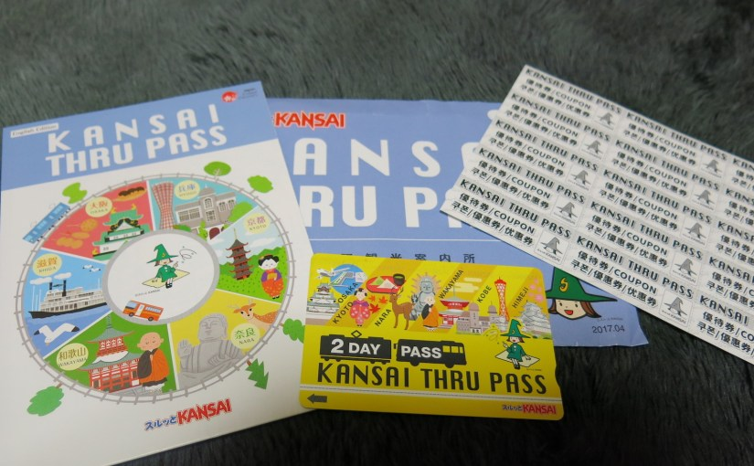 How to use Kansai Thru Pass. Compare pass and single fare.
