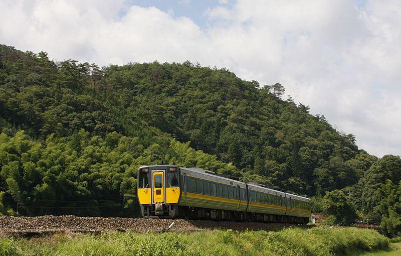 Access to Tsuwano, Izumo, Matsue from Yamaguchi. Limited Express Super Oki