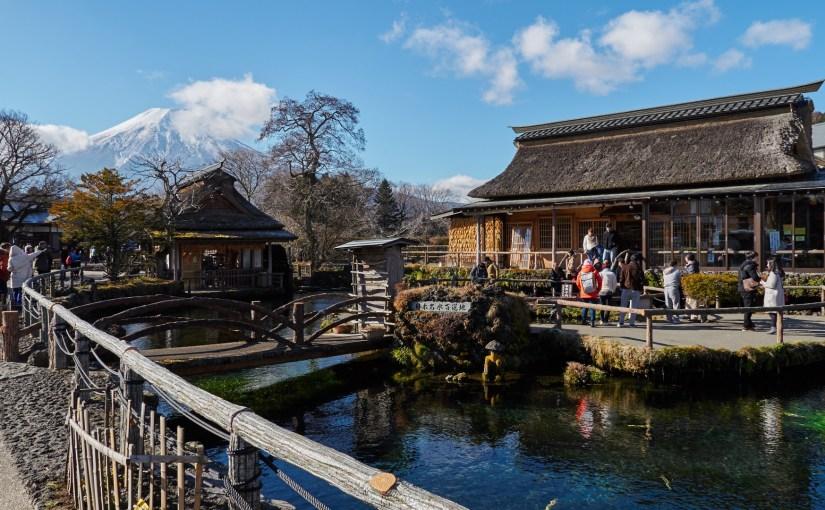 Fuji and Hakone 2-day trip sample itinerary