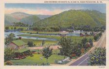 Lake Shawnee, Princeton, WV Postcard