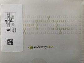 My AncestryDNA kit arrived on Thursday, 1 February 2018