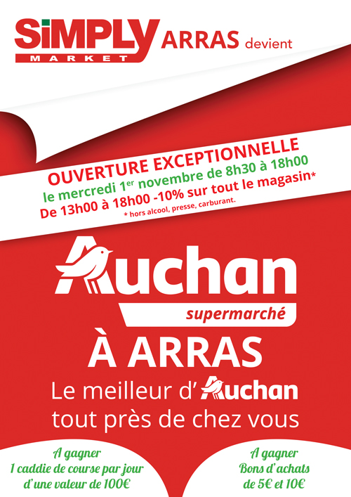 flyer auchan arras recto
