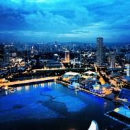 Singapur desde Marina Bay Sands