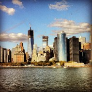 Nueva York desde el río Hudson