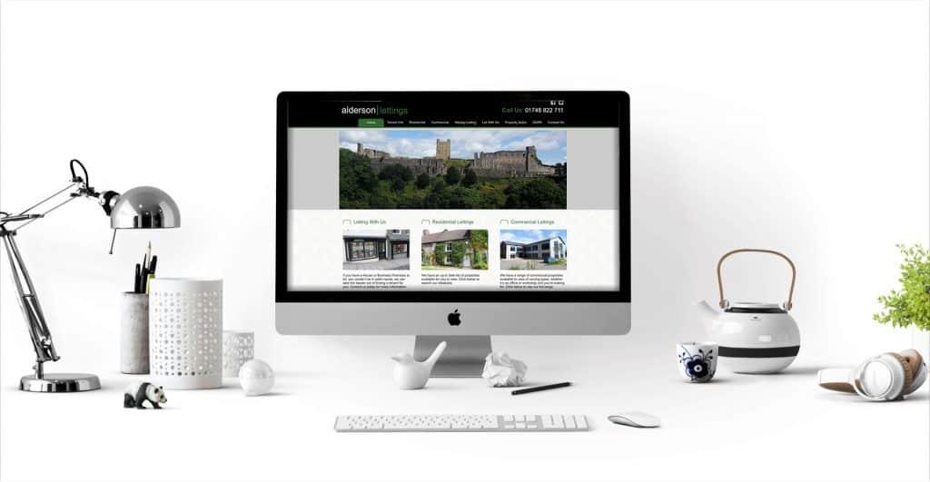 Alderson Lettings Estate Agency Website