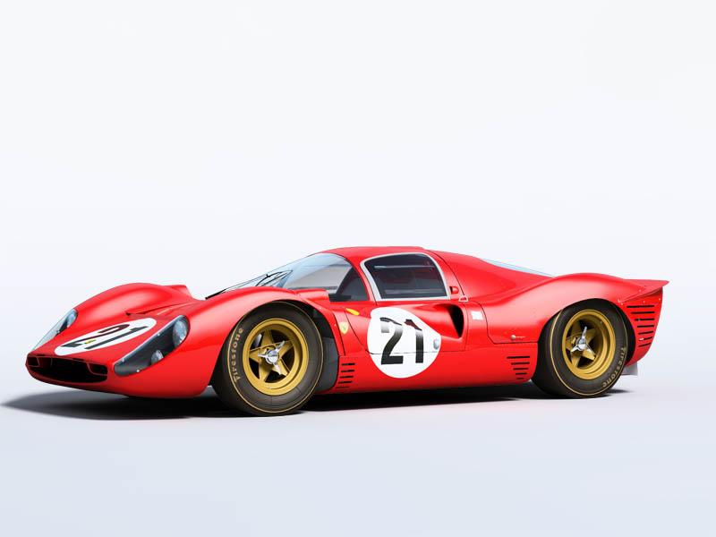 3DGalleryFerrari 330 P4 le mans 1967