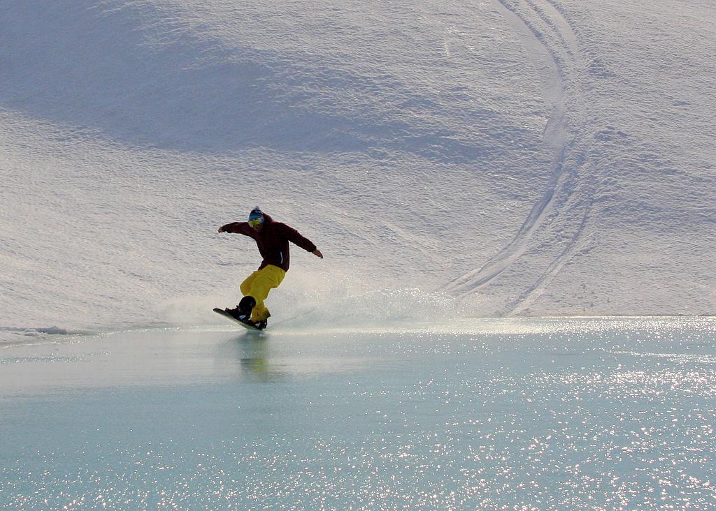 Snowboarding på brevannet