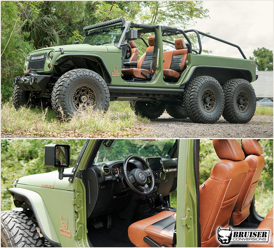 bruiser conversions 6x6 jeeps
