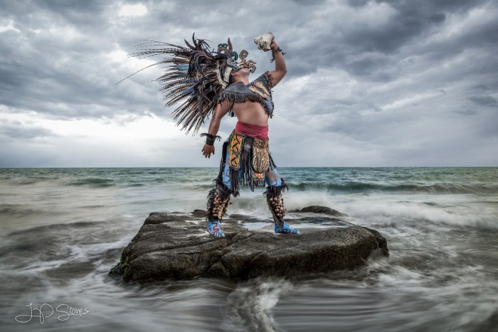 Aztec Warrior Workshop in Puerto Vallarta, Mexico.