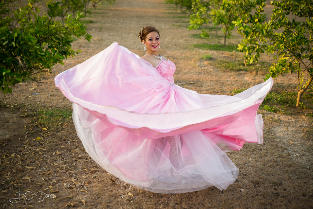 Quinceañera photo shoot