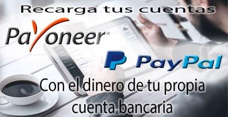 recarga payoneer, paypal, payza u otros con AirTM