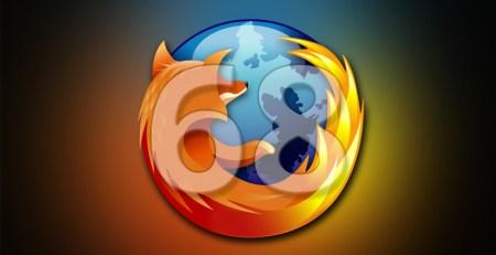 Actualizate a Firefox 68
