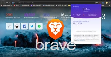 El navegador Brave