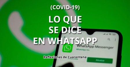 Lo que se dice en Whatsapp