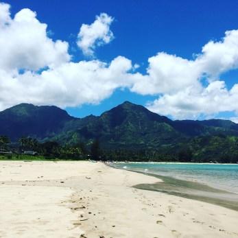 Hanalei Bay Beach