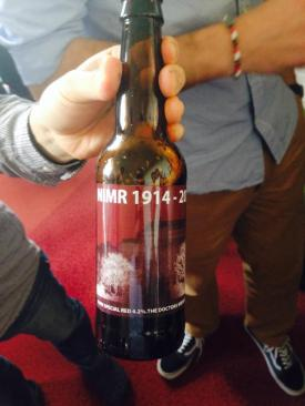 A unique beer to toast the end of the NIMR.