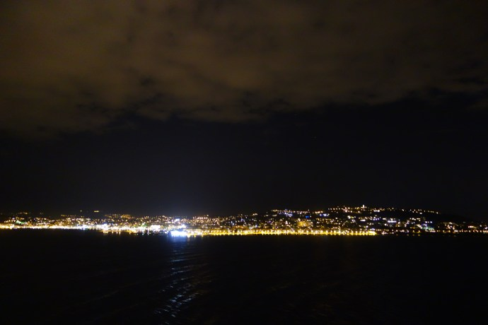 Cannes at night 2 (2/2)