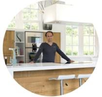 JP Walker in Corian keuken