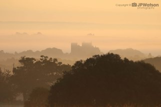 Ripon Cathedral In The Mist