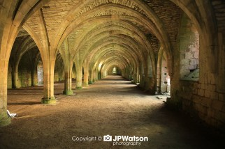 Main Hall At Fountains Abbey