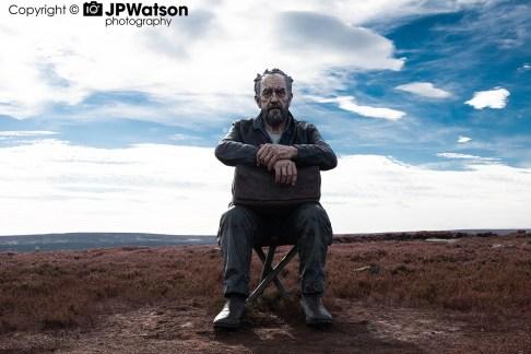 Yorkshire Seated Man