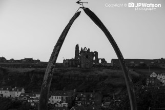Black And White Whitby Abbey