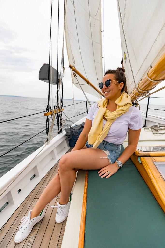 schooner surprise camden maine boat