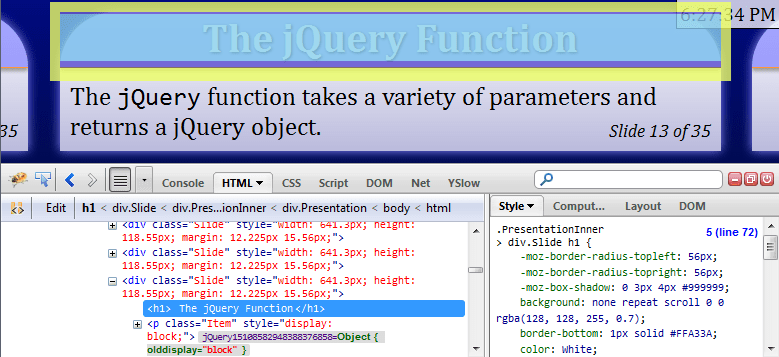 Introducing jQuery