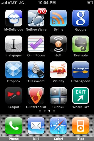 My Productivity apps