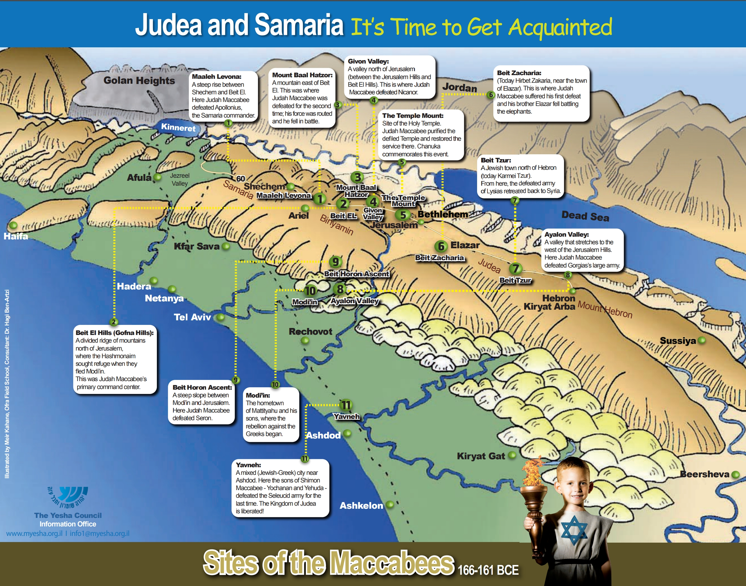 The Chanukah Map