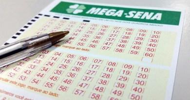 Mega-Sena está acumulada em R$ 45 milhões para esta quarta
