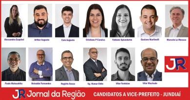 Conheça os candidatos a vice-prefeito de Jundiaí